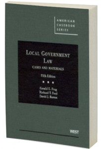 Local Government Law co-authored by Richard Thompson Ford